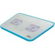 """Cooler Laptop VAKOSS LF-2468WB 17"""" (Alb-Albastru)"""
