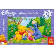 Trefl 17123 Disney Puzzle Winnie the pooh, 60 pezzi, 33x22cm