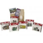 Velleman MKSET 1 6-delig Mini Kits bouwpakket assortiment