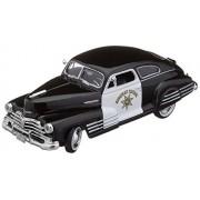 Motormax 76454 1948 Chevrolet Aerosedan Fleetline Highway Patrol Police 1-24 Diecast Car Model