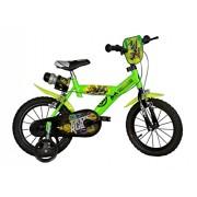 Dino Bikes - 143 G-NT - Vélo pour garçon 14 de 5 à 7 ans - les tortues ninjas