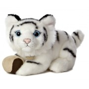 "Aurora World Miyoni Tots White Tiger Cub Plush with Ball, 9"""