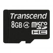 Card Transcend microSDHC 8GB Class 4