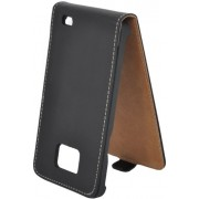Husa Flap Lemonti Monte Carlo pentru Samsung Galaxy S2 Plus i9105 (Negru)