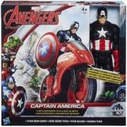 Комплект Авенджърс - Титаничен герой с автомобил - 2 налични модела - Hasbro, 033615