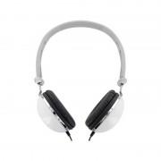 Casti 4World stereo cu pernite de urechi confortabile ''Colors'' albe