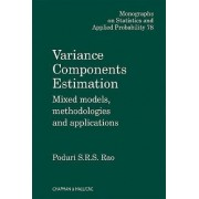 Variance Components by Poduri S.R.S. Rao