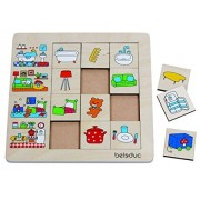 Hape 11040 - Sorting Set Our Home