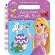 Disney Princess Wipe-Clean Activity Book by Parragon Books Ltd