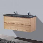 Badkamermeubel Wood Stone 1200