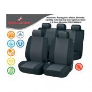 Autopoťahy Pineto 3k - sivo/čierne PREMIUM-