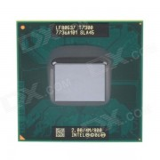 Intel Core 2 Dual-Core T7300 2.0GHz 4MB L2 Processor CPU - Green + Golden