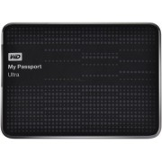 "HDD Extern Western Digital My Passport Ultra, 1TB, 2.5"", USB 3.0 si USB 2.0, Negru"