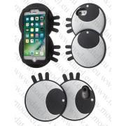 Аpple iPhone 7 (силиконов калъф) 'Big Cute Eyes'