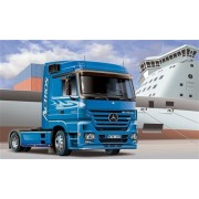 #3824 Italeri Mercedes Benz Actros 1854 Ls (V8) 1/24 Scale Plastic Model Kit,Needs Assembly