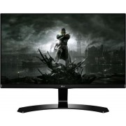 "Monitor Gaming IPS LED LG 27"" 27MP68VQ-P, Full HD (1920 x 1080), HDMI, VGA, 5 ms, Boxe (Negru) + Lantisor placat cu aur cu pandantiv in forma de lup de mare"
