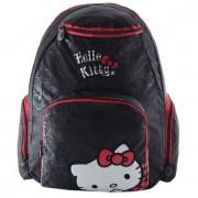 Mochila de Costas Grande Hello Kitty Old School Preta/Vermelha - Pacific