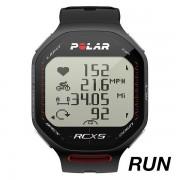 Ceas sport unisex Polar RCX5 RUN negru