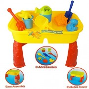 Summer fun Sand and Water Table - Great fun on the beach or in the garden - TY1987 by KandyToys