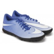 Nike BRAVATAX II TF Football Shoes(Blue)
