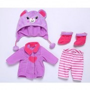Baby Alive Cozy Cuddles Coat for 12 - 14 Dolls