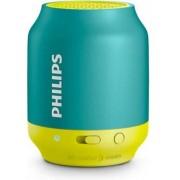 Boxa Portabila Philips BT50A, Bluetooth/Jack 3.5mm (Galben/Albastru)