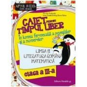 Caiet pentru timpul liber - Clasa 3 - Comunicare si matematica - Marinela Scripcariu