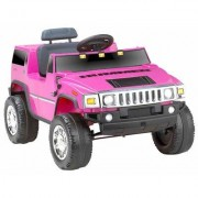 Kidz Motorz Hummer 6V Battery Powered Jeep 571 Color: Pink