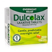 DULCOLAX LAXATIVE 200 Tablets