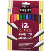 Set 12 carioci Sargent Classic Fine Tip