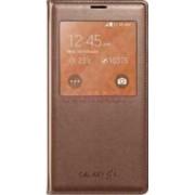 Husa S View Samsung Galaxy S5 G900 Auriu