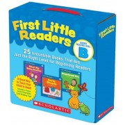 First Little Readers: Guided Reading Level B: 25 Irresistible Books That Are Just the Right Level for Beginning Readers, Paperback