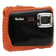 Rollei Sportsline 65 Cámara digital compacta, 5 MP, estanco al agua hasta 3 m, color negro