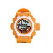 Orange Projector watch for kids