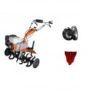 Motocultor Ruris 720 K+ Roti Cauciuc+Rarita