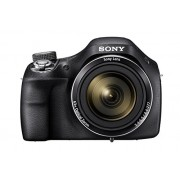 Sony H400/B 20.1 MP Point and Shoot Camera with 63x Optical Zoom (Black) with Carrying Case