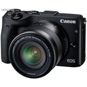 Canon EOS M3 24 MegaPixel Black Digital Camera with 18-55 EF-M Lens Kit
