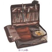 Pretty Krafts Pearl Vanity Kit | Exclusive hand Printing (Brown)