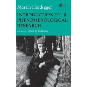 Introduction to Phenomenological Research by Martin Heidegger