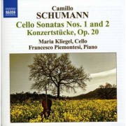 C. Schumann - Cello Sonatas No.1 & 2 (0747313231478) (1 CD)