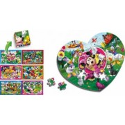Set Educativ Clementoni Edukit 4 In 1 Disney Minnie Mouse