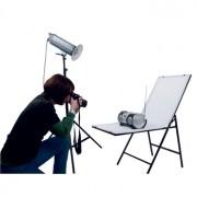 Opklapbare fototafel 50x120xm