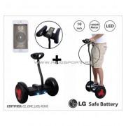 """Balans skuter -mini segway RING DRIVE-9 10"""" BLACK-LG"""