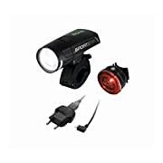 Sigma K LED Headlight Sportster Set, Black, One size Fits All - 18250