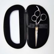 Professionell frisörsax, dubbla öglor 16,5 cm