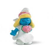 """Bride Smurfette ~1.9"""" Mini Figure: Schleich Mini Figure Series [204126]"""