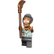 LEGO The Simpsons Kwik-E-Mart Minifigure - Apu Nahasapeemapetilon with Broom (71016)