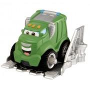 Hasbro Chuck and Friends Vehículos motorizados Rowdy - Camión de juguete para los sets de juego de Chuck y sus amigos, color verde