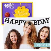 Chocobox - I love Milka! - Verjaardag - Bloem 220 gram