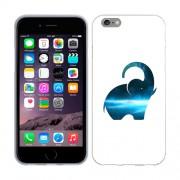 Husa iPhone 6 Plus iPhone 6S Plus Silicon Gel Tpu Model Elefant Abstract